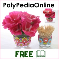 polypediaonline polymer clay tutorials basic spiral millefiori canes project