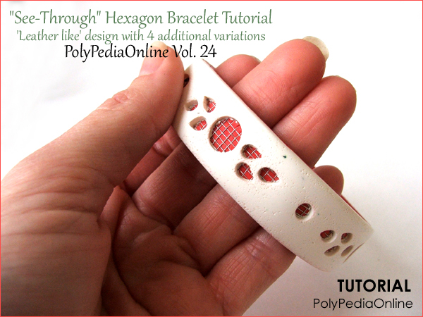 polypediaonline mosquito bracelet see through tutorial polymer clay