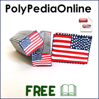 polypediaonline polymer clay tutorials usa flag millefiori canes project