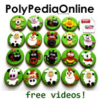 polypediaonline polymer clay tutorials free animal keychains