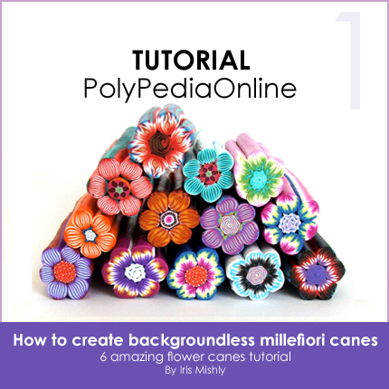 polymer clay dictionary terms techniques tutorials polypediaonline  flower canes millefiori