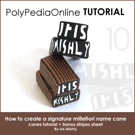 polymer clay tutorial polypediaonline millefiori  name cane