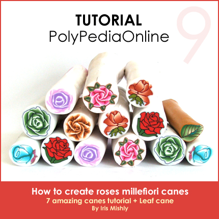 polymer clay tutorial polypediaonline millefiori  roses canes