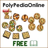 polypediaonline polymer clay tutorials crossword millefiori canes project