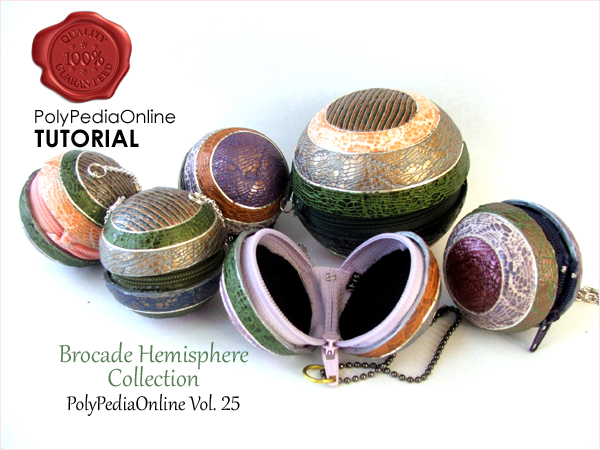 polypediaonline brocade tutorial polymer clay purses