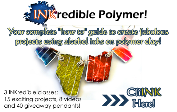 polymer clay tutorial alcohol ink