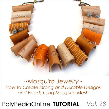 polymer clay tutorials mosquito technique