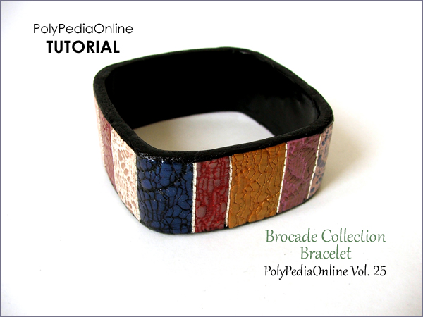polypediaonline tutorial polymer clay brocade