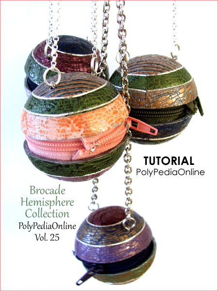 polypediaonline tutorial brocade polymer clay