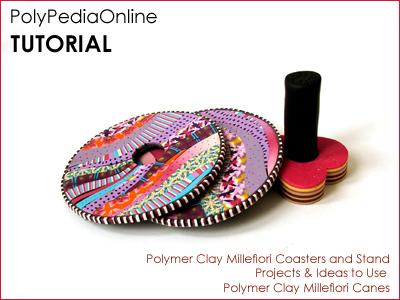 Millefiori Celebration polymer clay canes polypediaonline