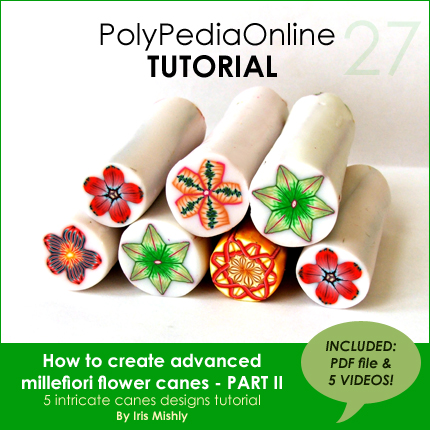 polymer clay tutorials flower canes polypediaonline