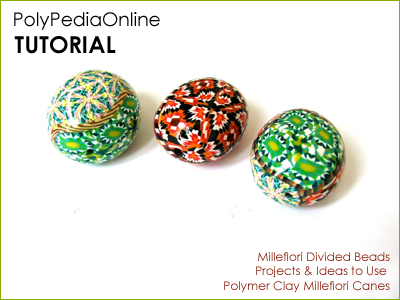 polymer clay tutorial polypediaonline millefiori  beads