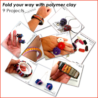 polymer clay tutorial folding techniques