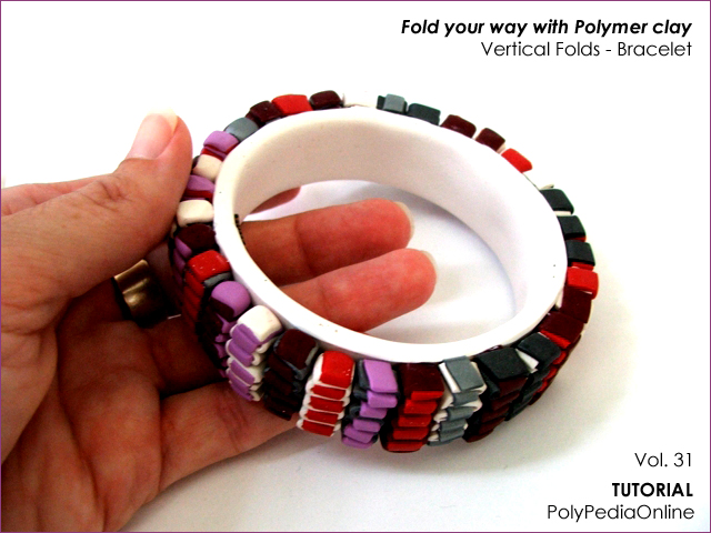 polymer clay tutorials folding techniques